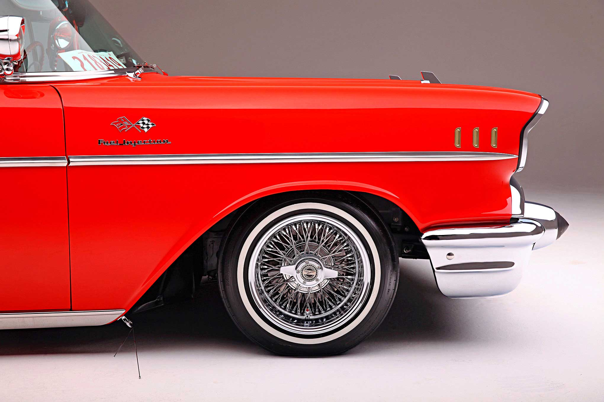 1957 chevrolet bel air convertible zenith wire wheel