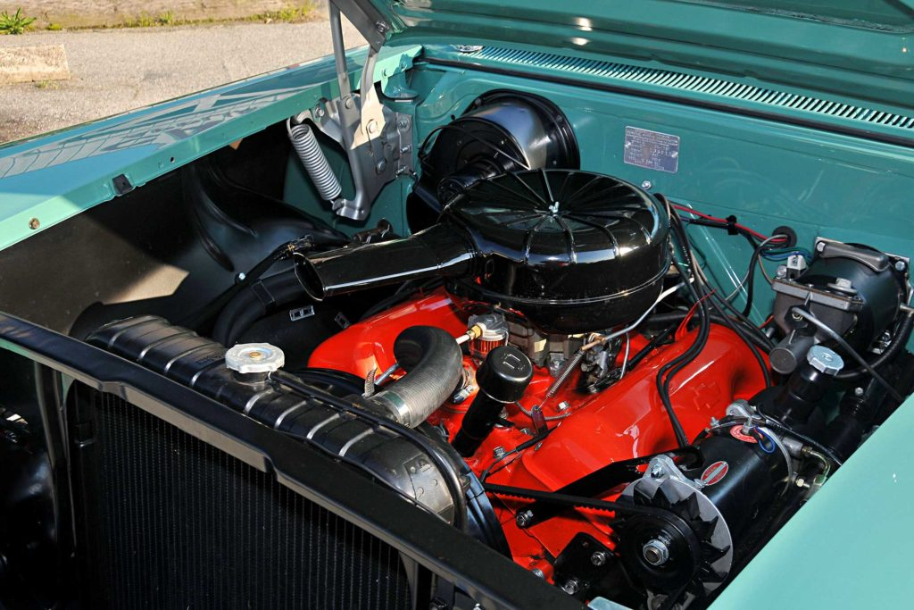 1958 chevrolet impala 348 big block motor