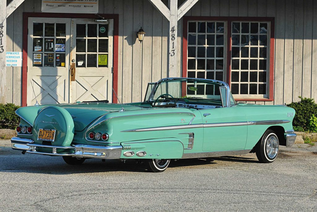 1958 chevrolet impala continental kit