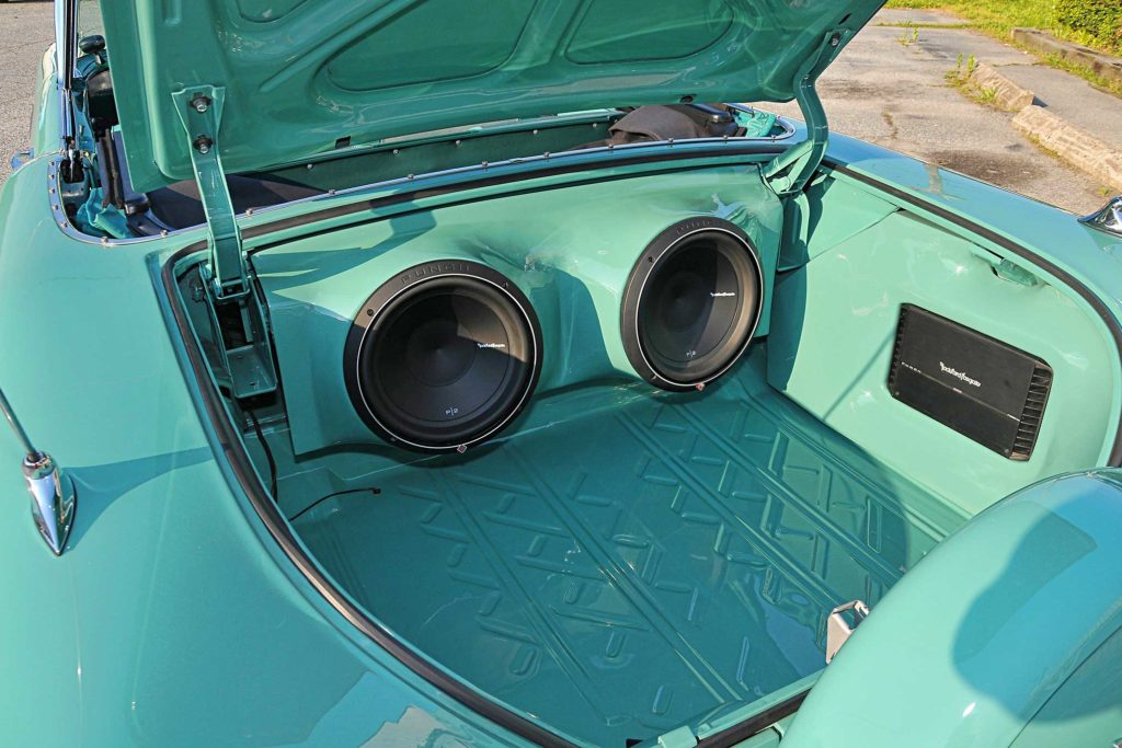 1958 chevrolet impala punch subwoofers