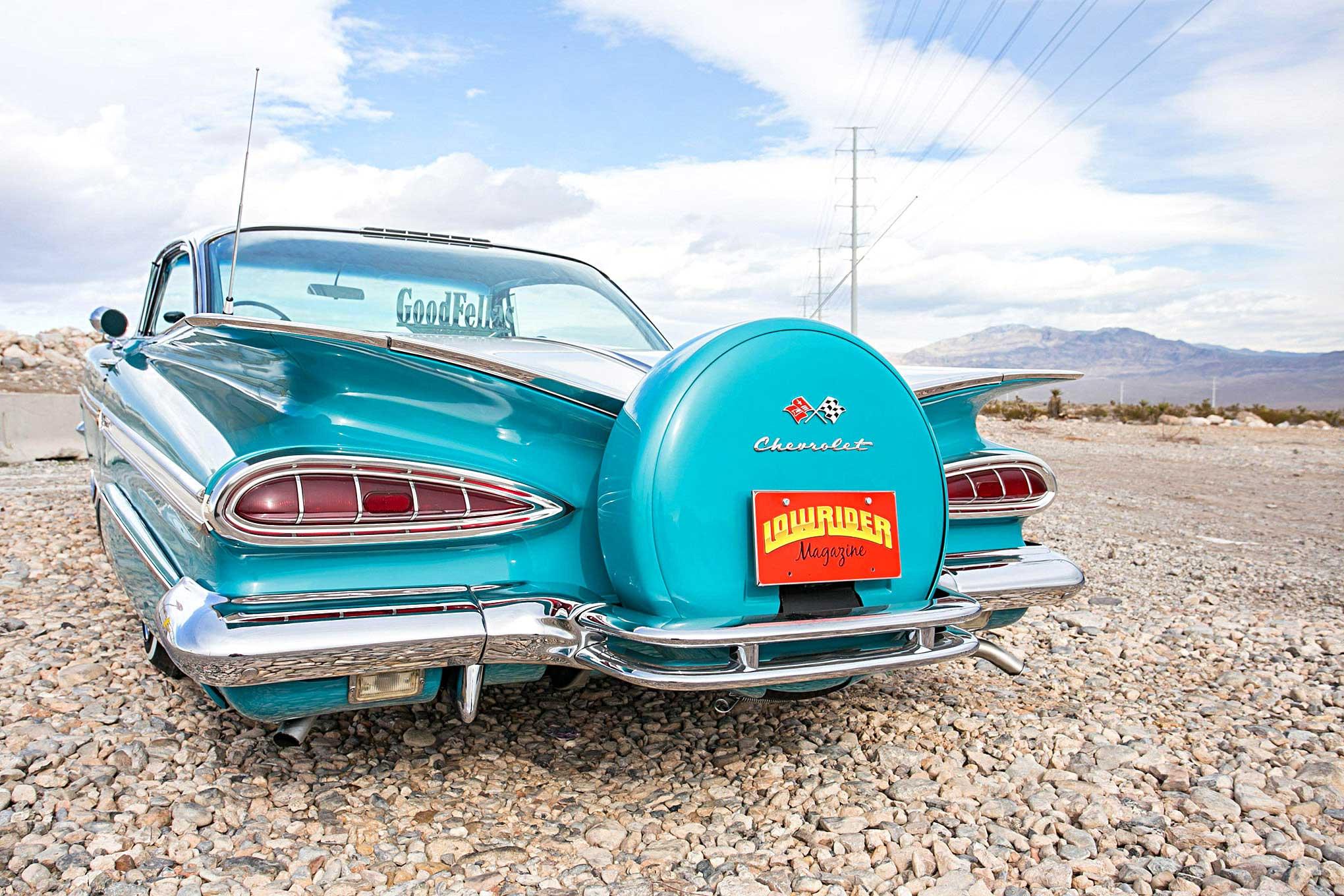 1959 Chevrolet Impala A Customary Custom Chevy Rear Wiring Harness 39 40