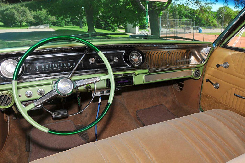 1965 chevrolet impala wagon interior