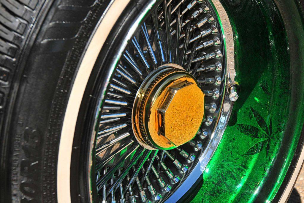 1965 chevrolet impala wagon luxor wire wheel