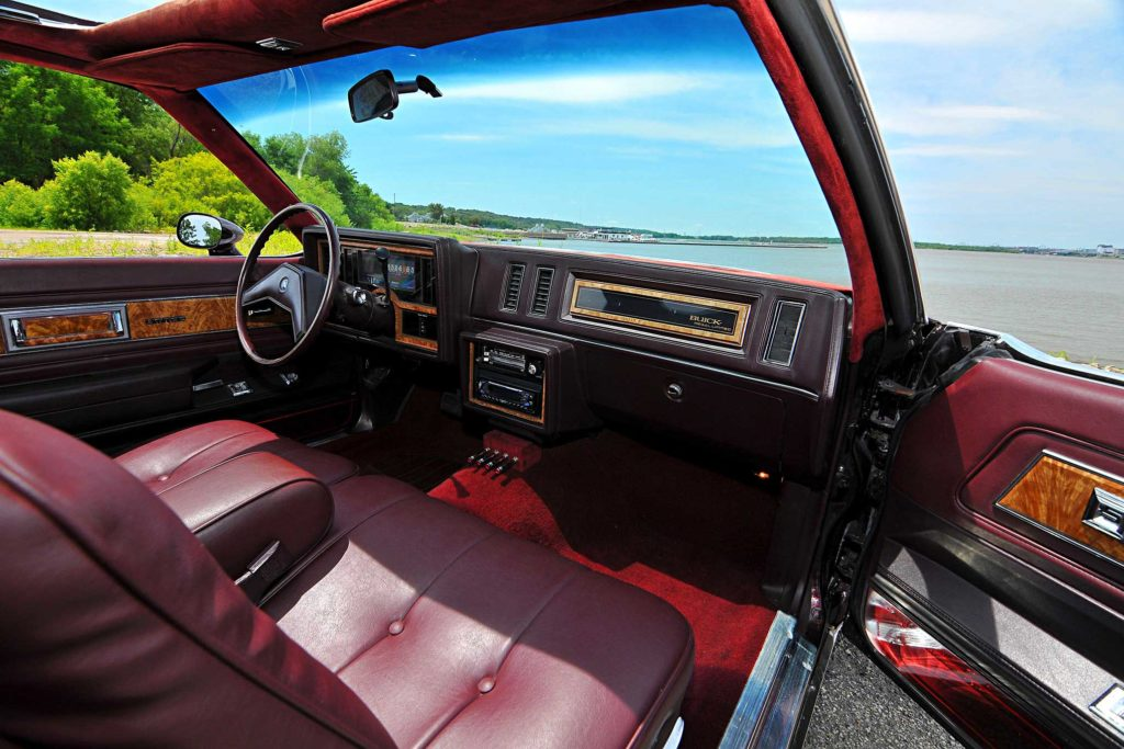 1985 buick regal dash