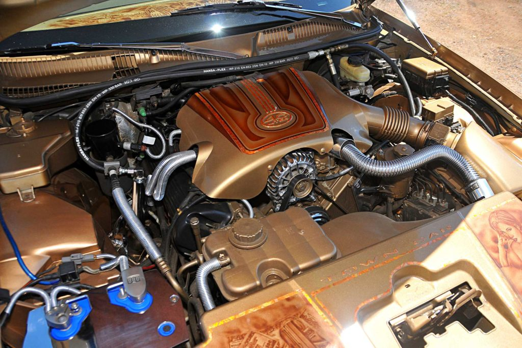 1998 lincoln towncar motor