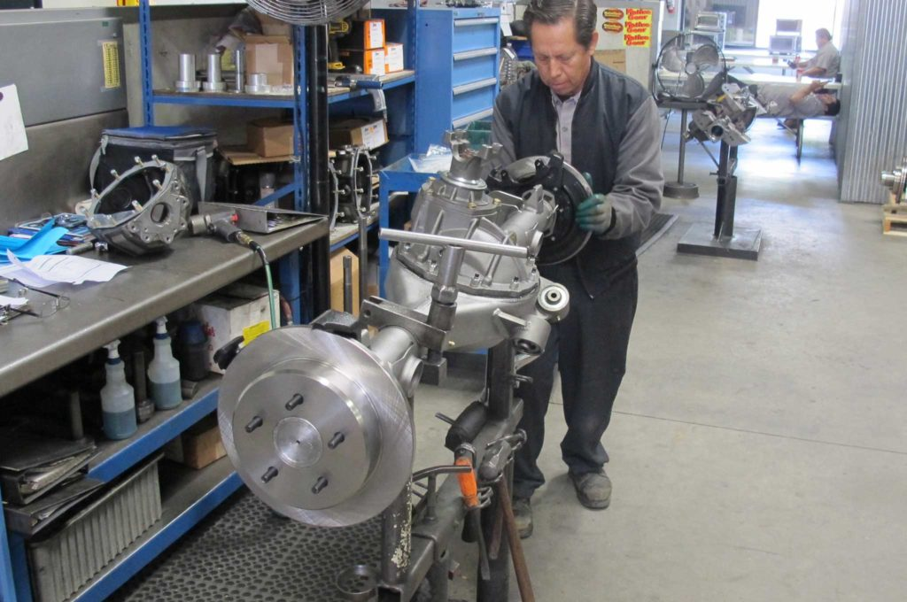 curries legendary rearends rotor mounting