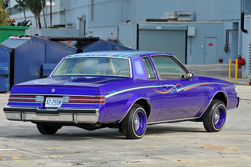 1983 buick regal passenger side rear view