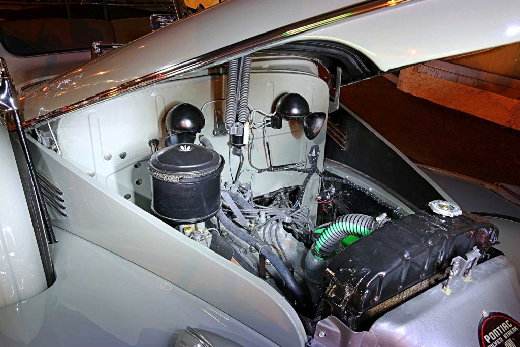 1939 pontiac convertible 222ci inline six engine