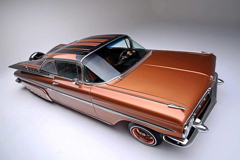 1959 chevrolet impala ppg copper paint