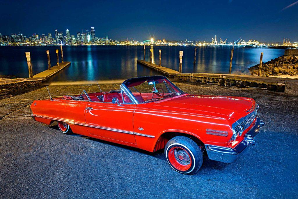 1963 chevrolet impala convertible passenger side front fender