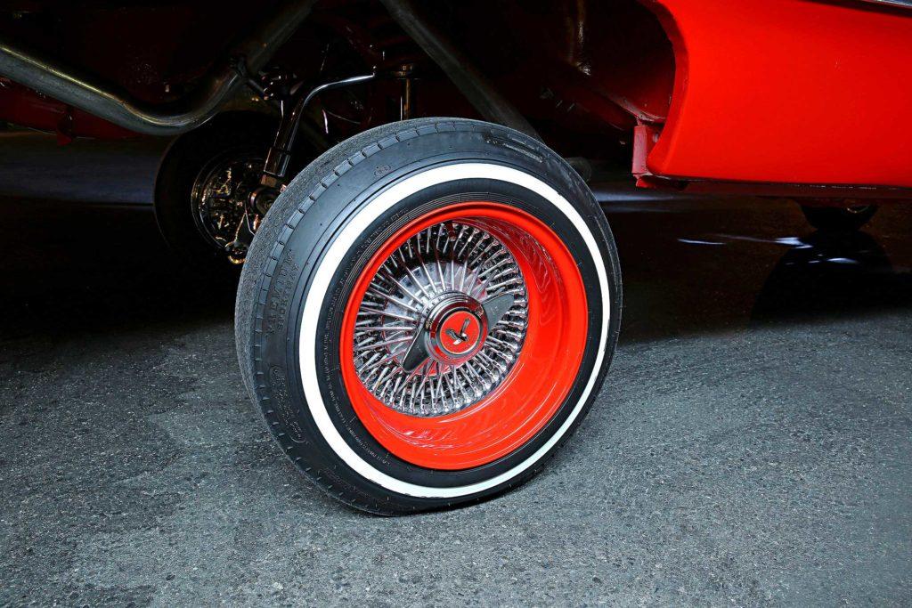 1963 chevrolet impala dayton wire wheel