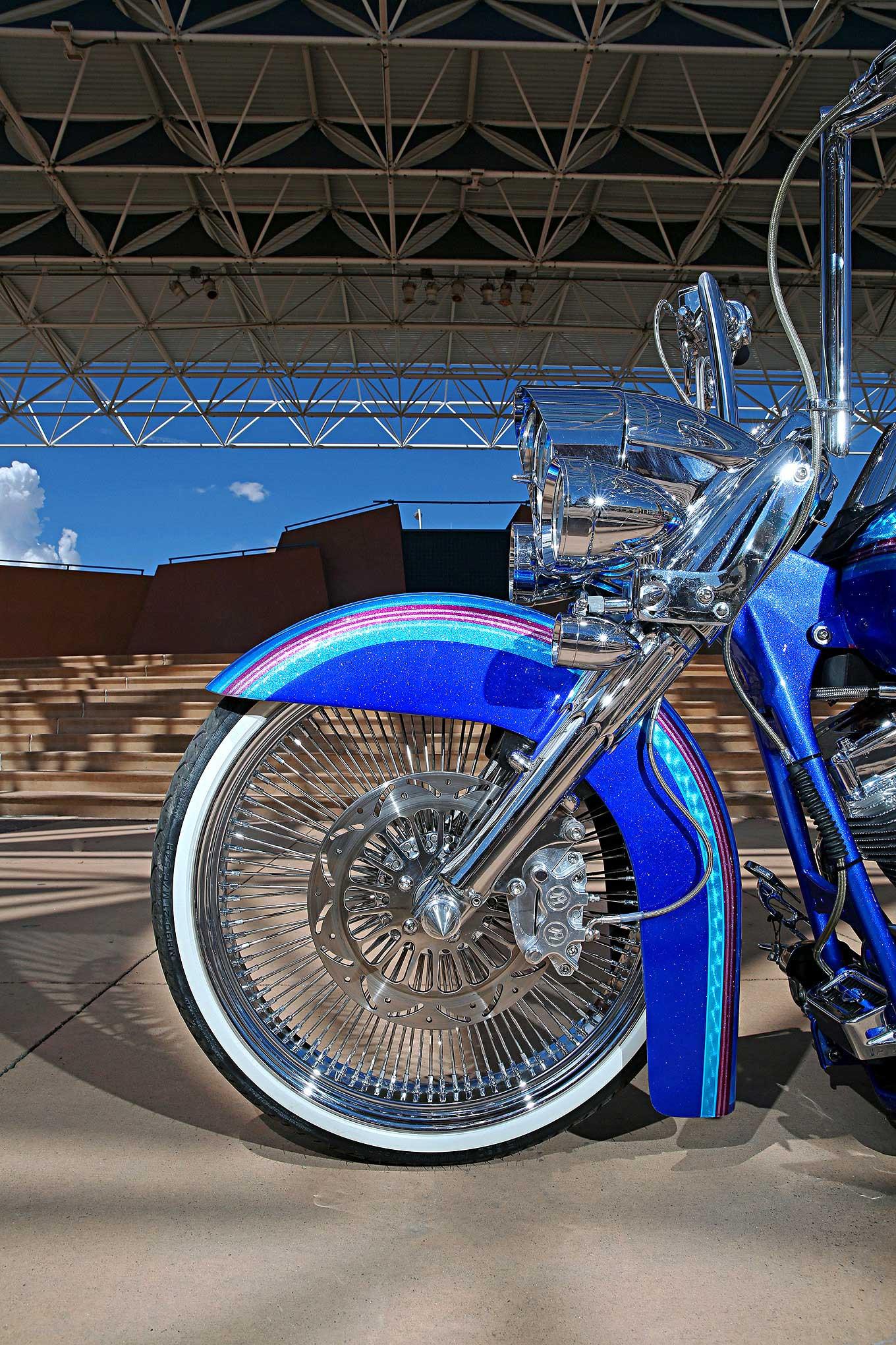 Harley Davidson Road King American Wire Wheel