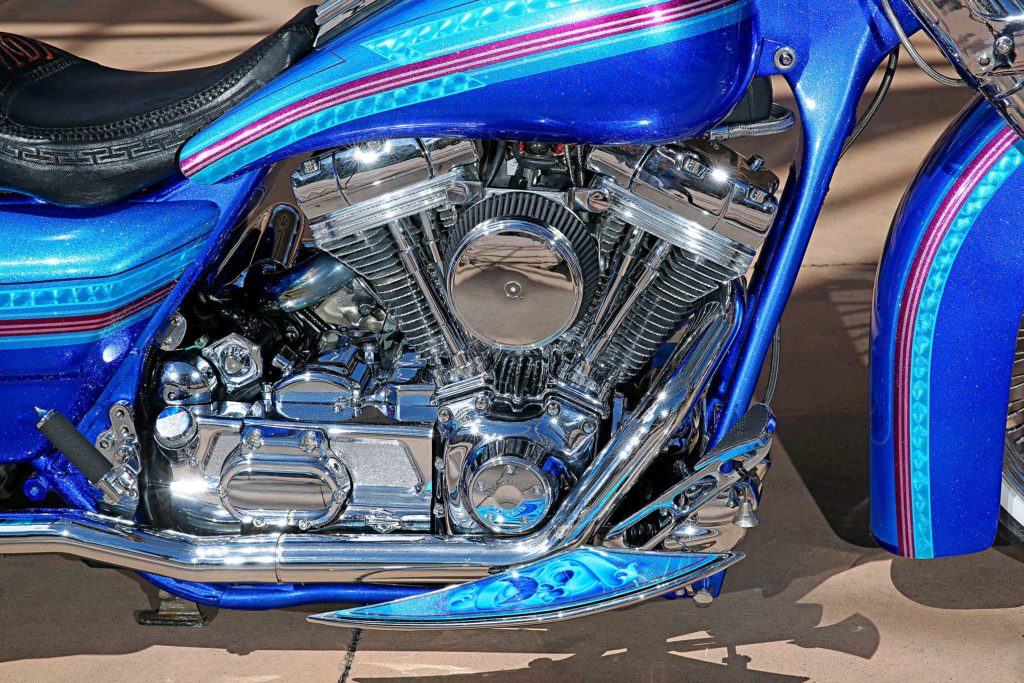 1999 harley davidson road king v twin motor