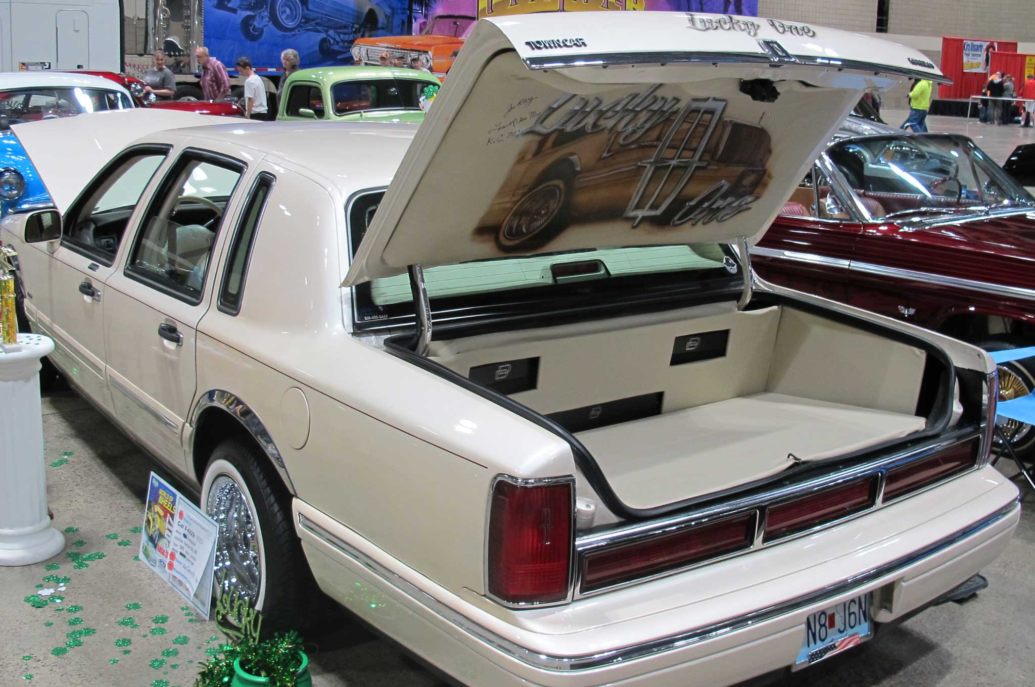 2017 Kansas City World Of Wheels Lincoln Town Car Lowrider