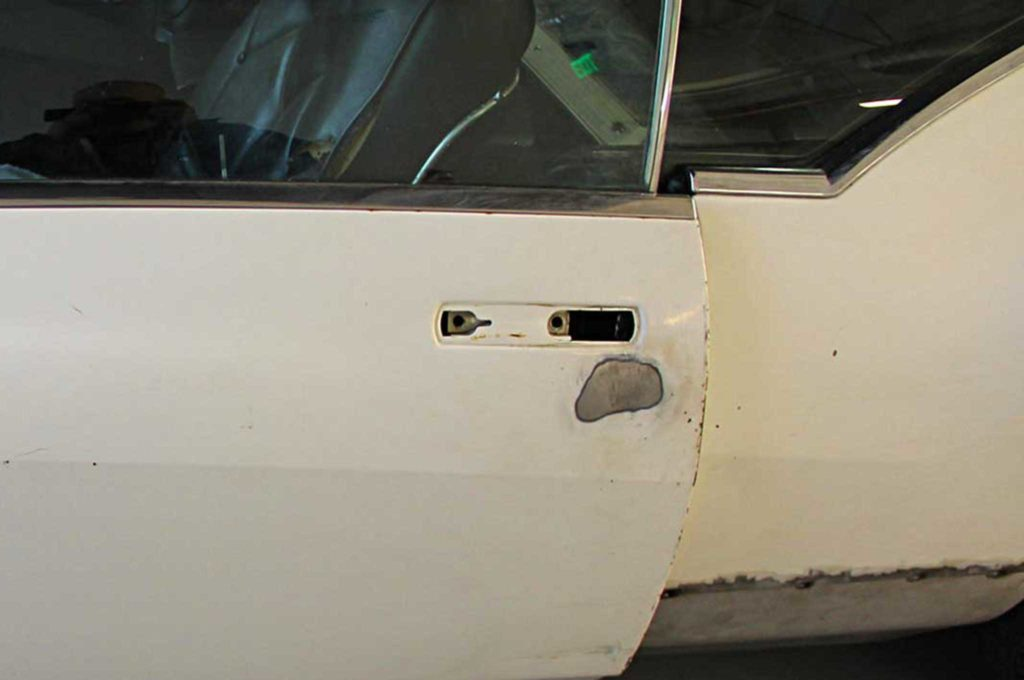 refining the fine lines of project riviera boat tail patched door panel