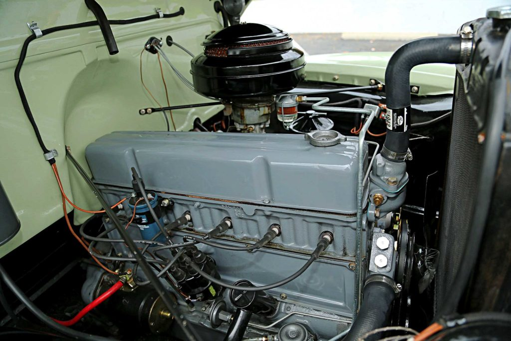 1949 Chevrolet 3100 235 motor