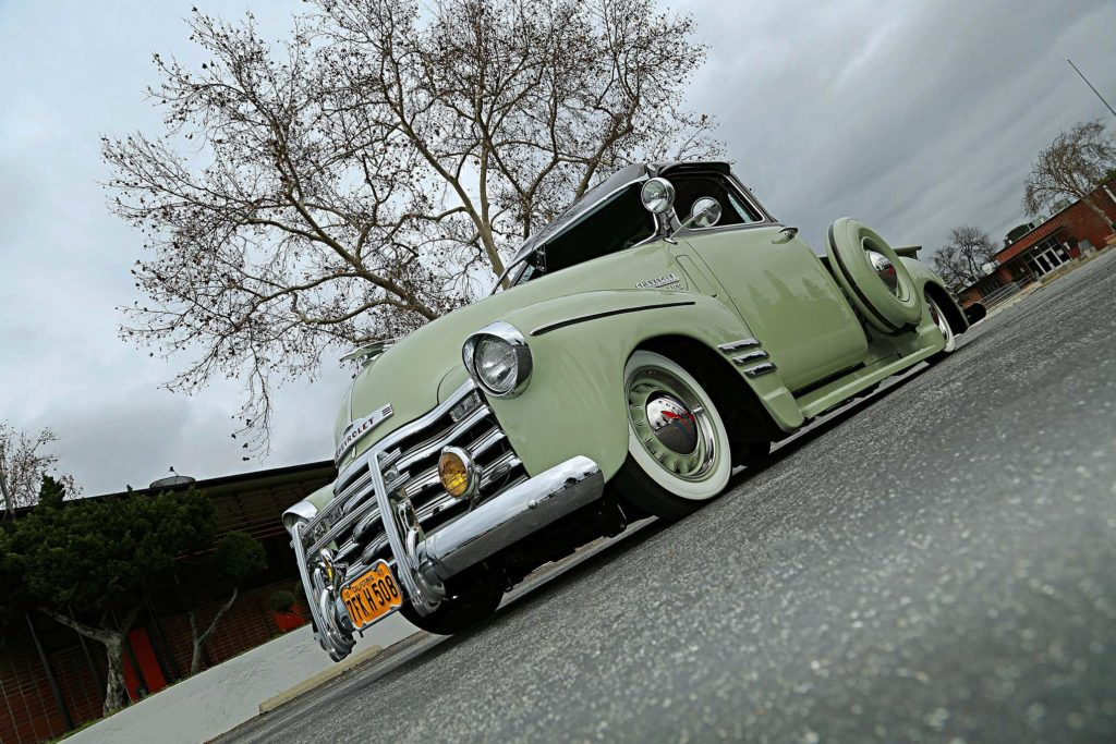 1949 Chevrolet 3100 Low Front View