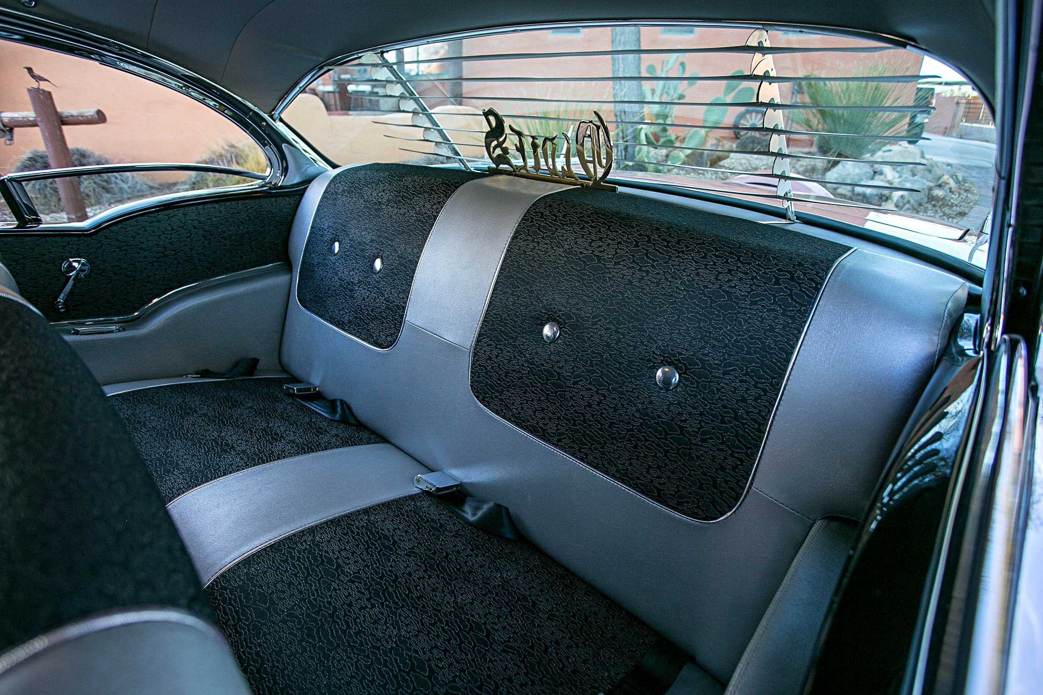 1957 Chevrolet Bel Air Back Seat Lowrider