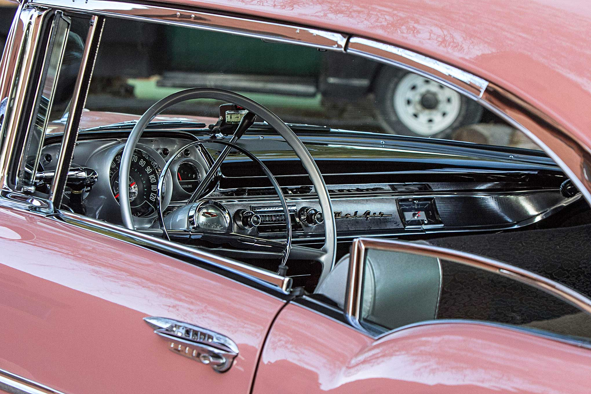 1957 Chevrolet Bel Air Interior Lowrider