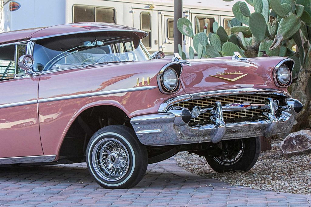 1957 Chevrolet Bel Air fender Front Bumper