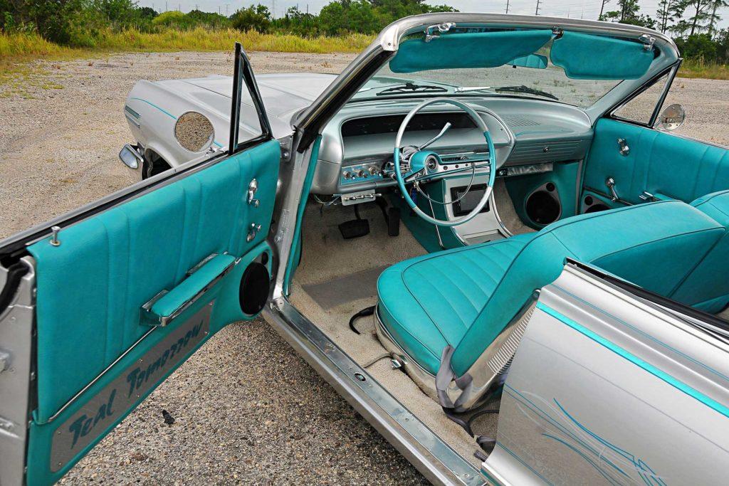 1963 Chevrolet Impala Convertible Interior