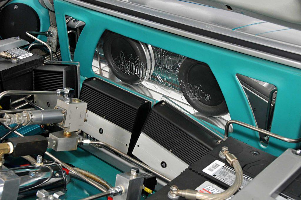 1963 Chevrolet Impala Convertible JL Audio Amps