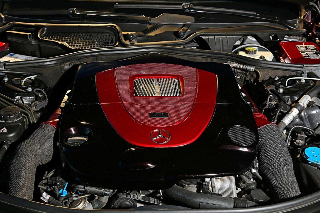 2009 Mercedes S550 v8 engine
