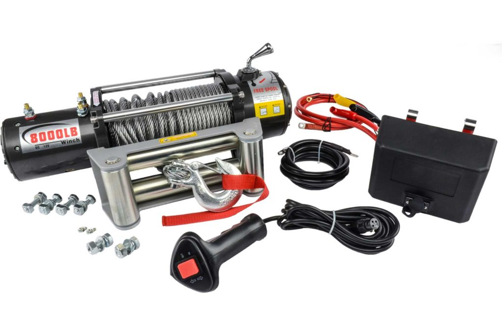 New Products JEGS Winches