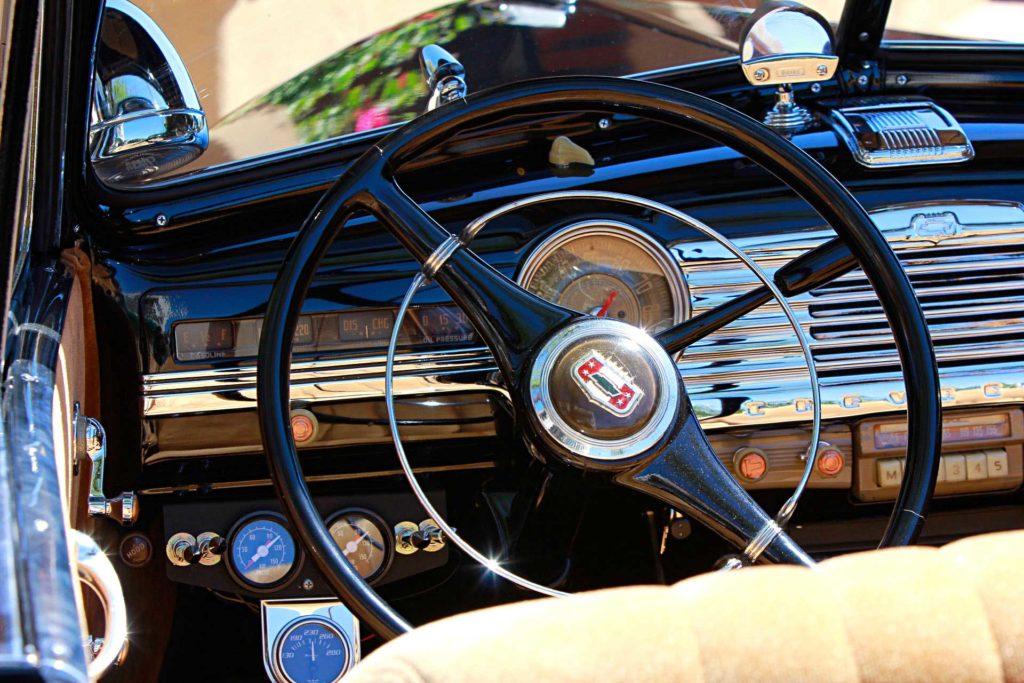 1947 Chevrolet Fleetmaster Convertible Steering Wheel