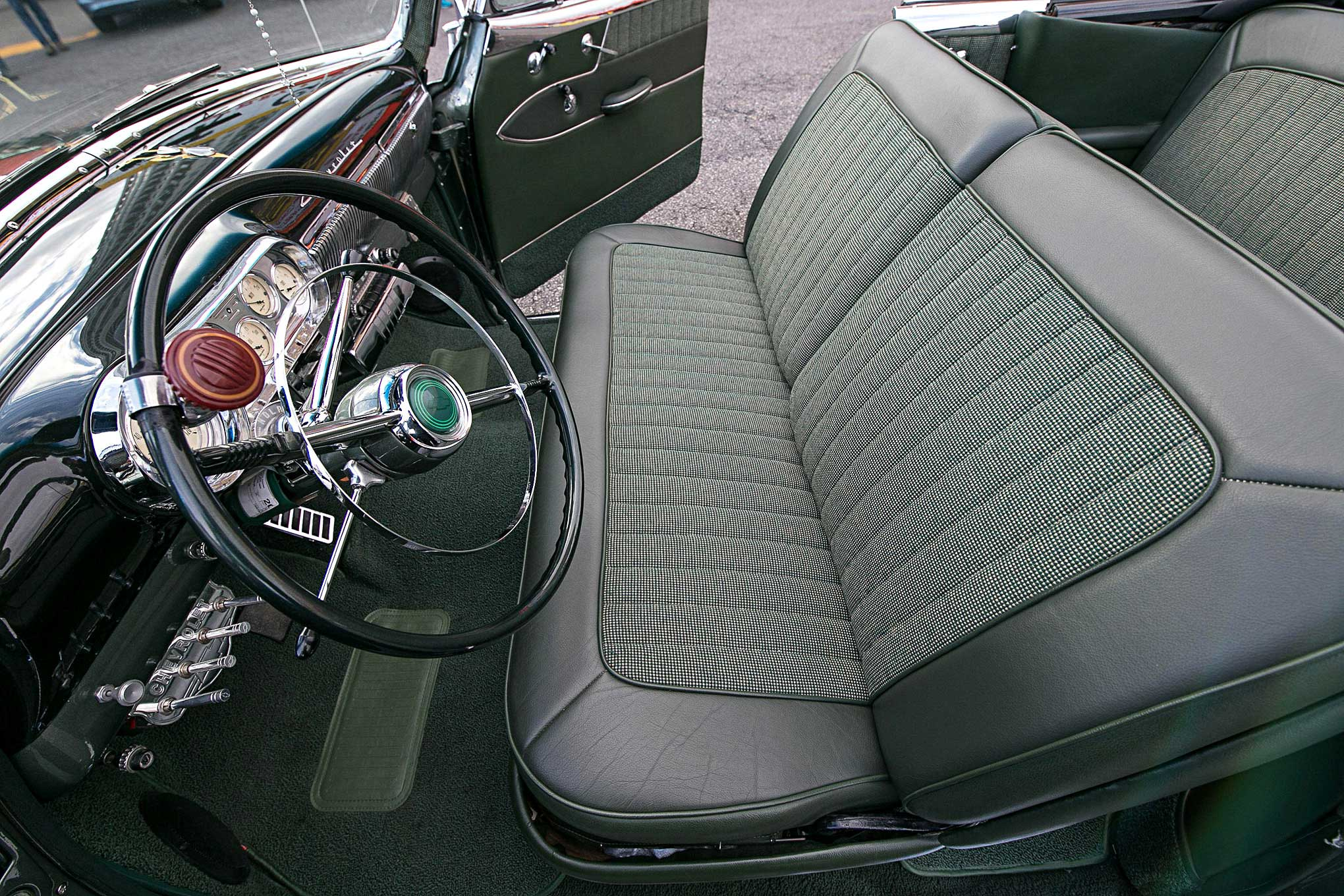 Pleasant 1953 Chevrolet Bel Air Bench Seat Lowrider Machost Co Dining Chair Design Ideas Machostcouk