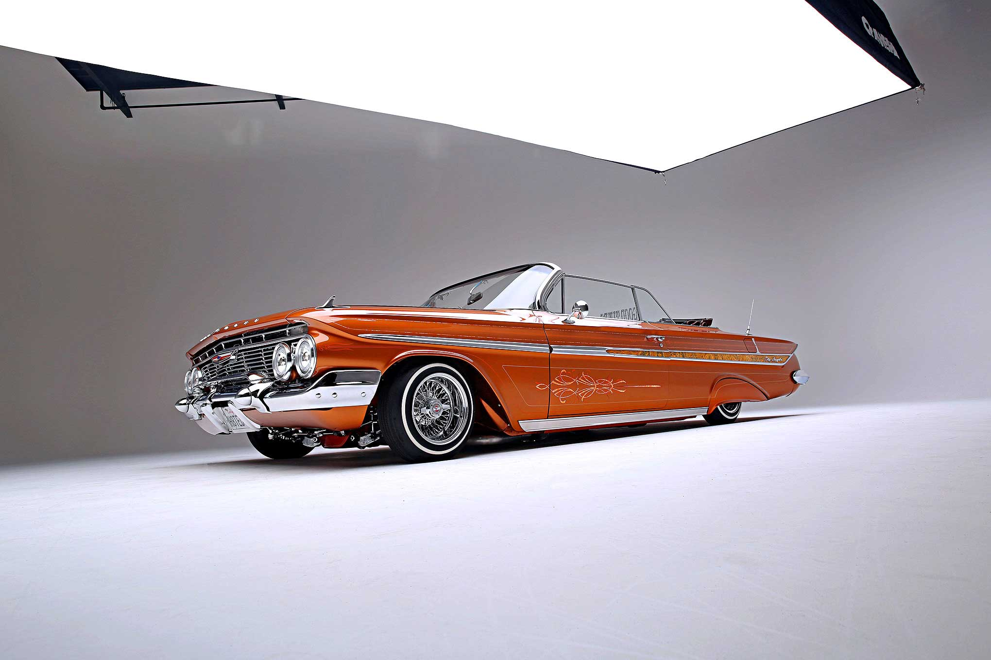 61 Impala Convertible Lowrider 1961 Chevy