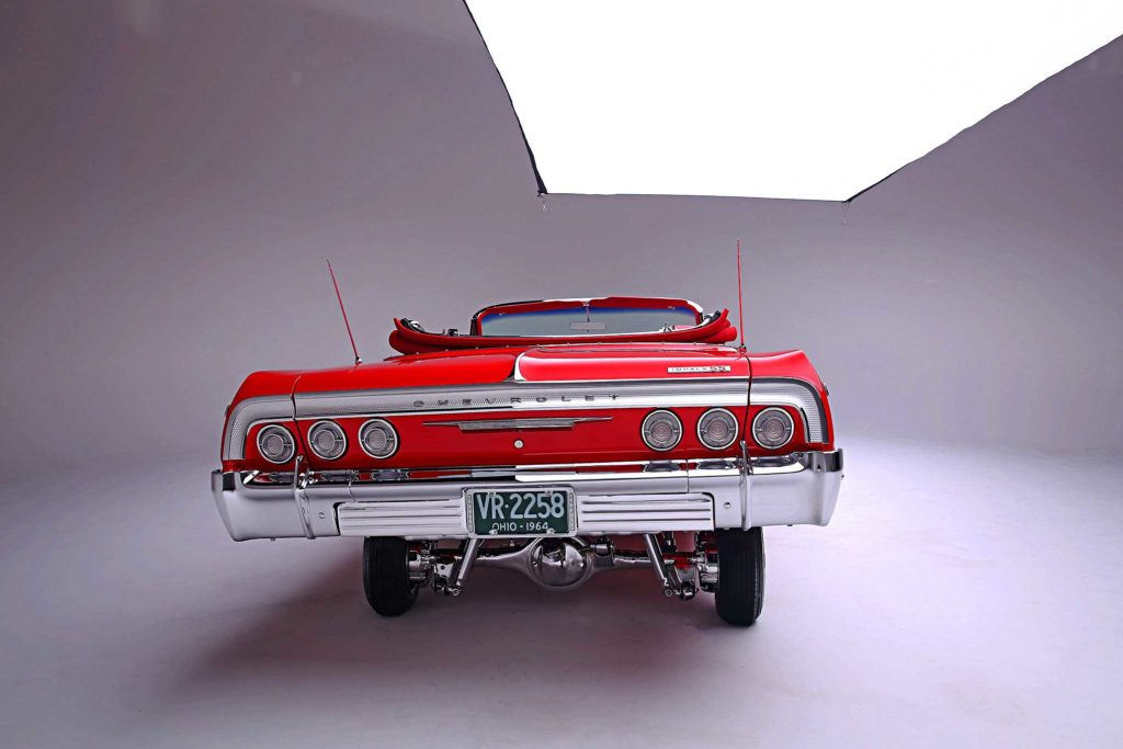1964 Chevrolet Impala Convertible Super Sport Rear Bumper