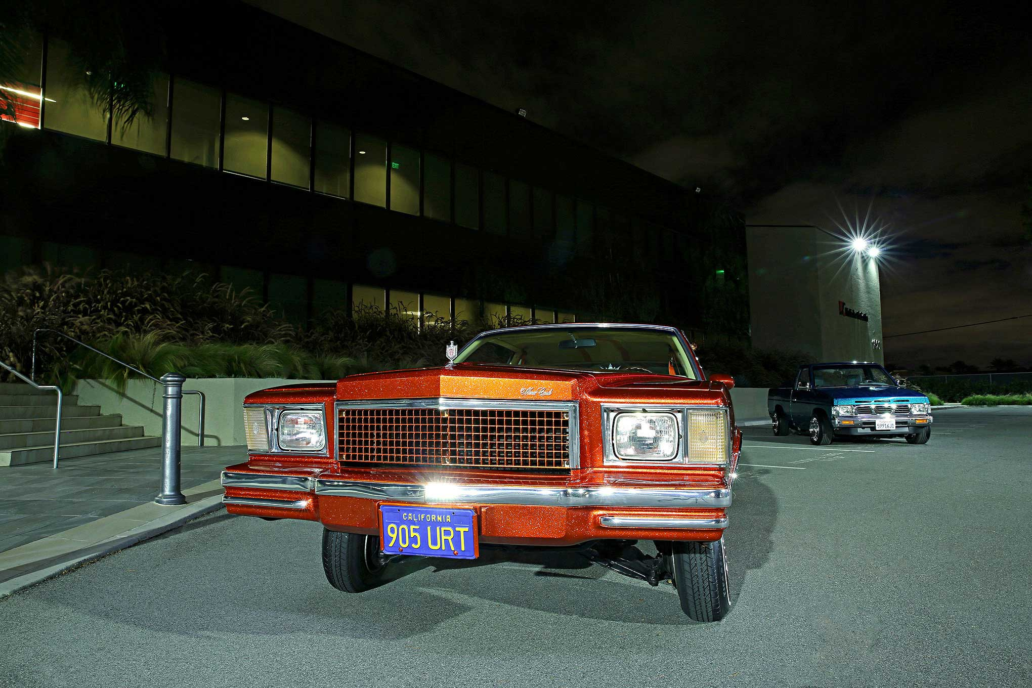 Jesse Carbajal's 1978 Chevy Monte Carlo - A Sunset Dream