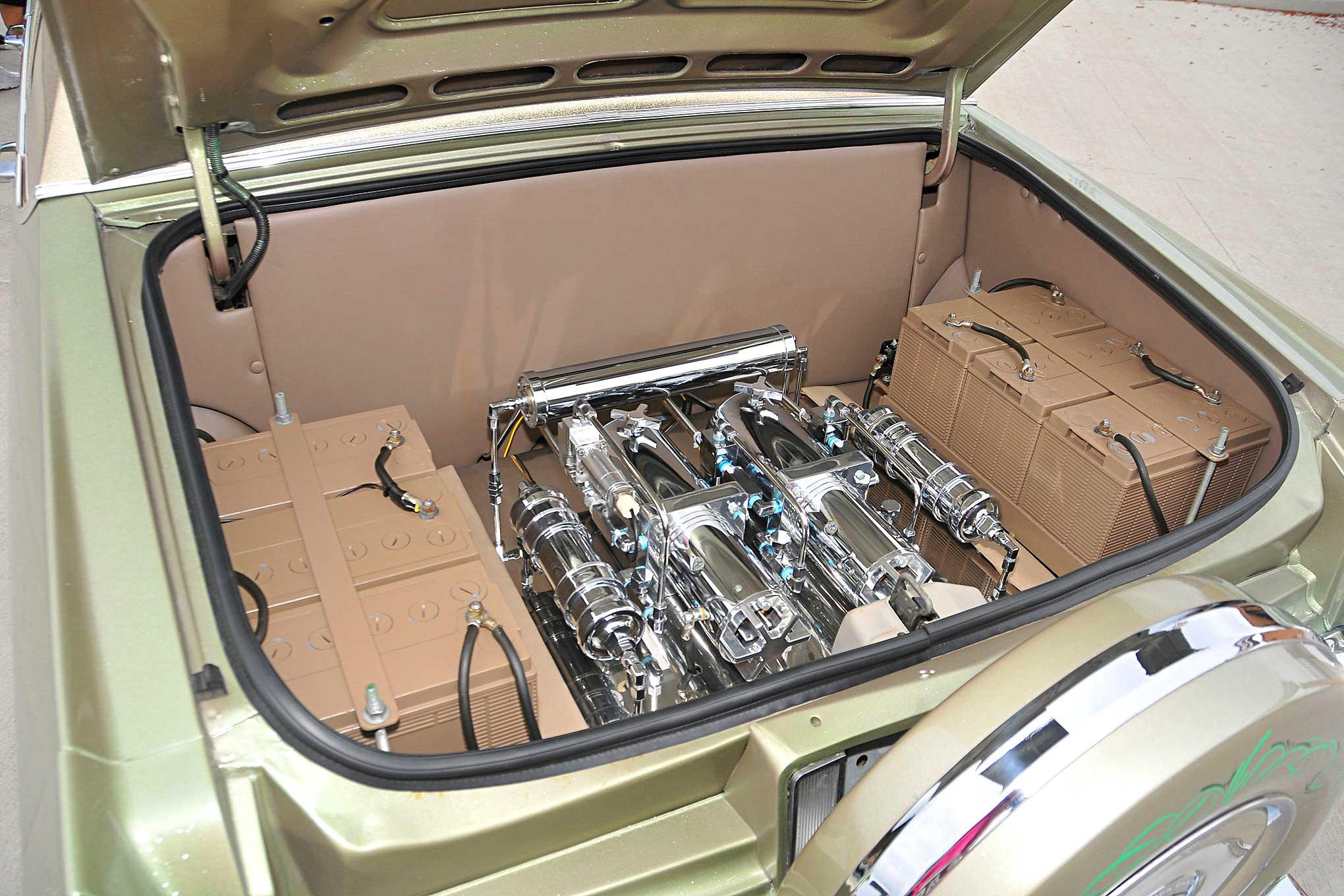 1990 Cadillac Fleetwood Brougham Hoppos Hydraulics Setup