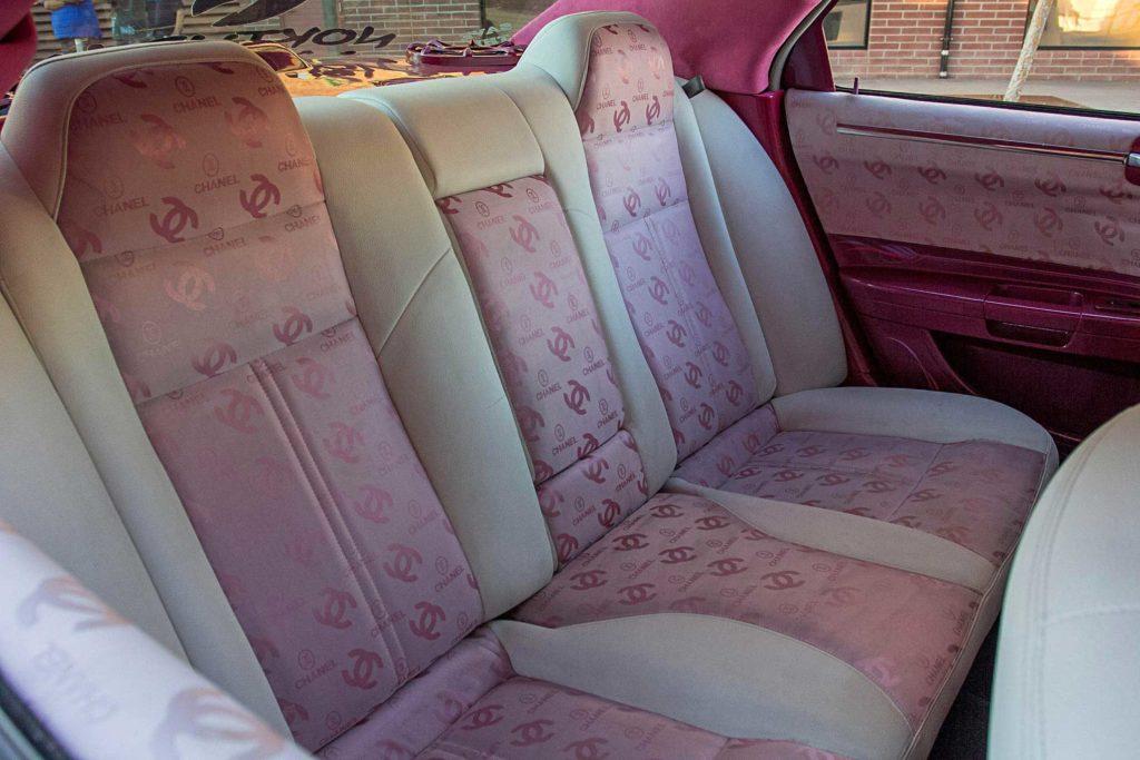2006 Chrysler 300 Custom Chanel Seat Inserts