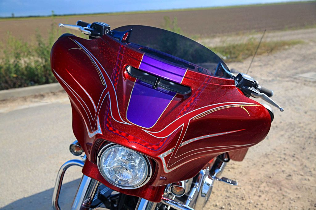 2015 Harley Davidson Street Glide Front Fairing
