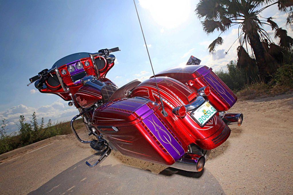 2015 Harley Davidson Street Glide Saddle Bags