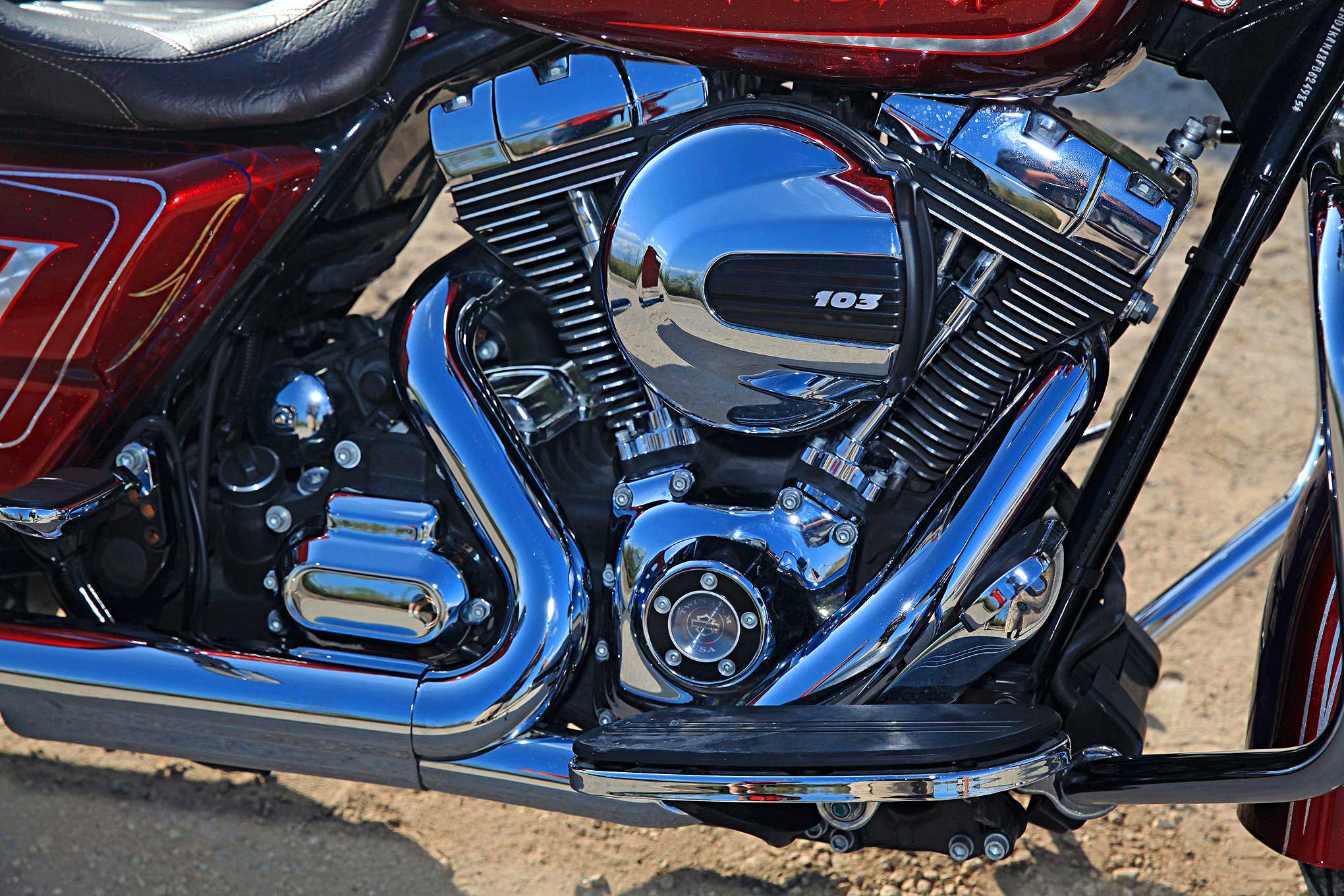 harley davidson street glide  therapeutic build