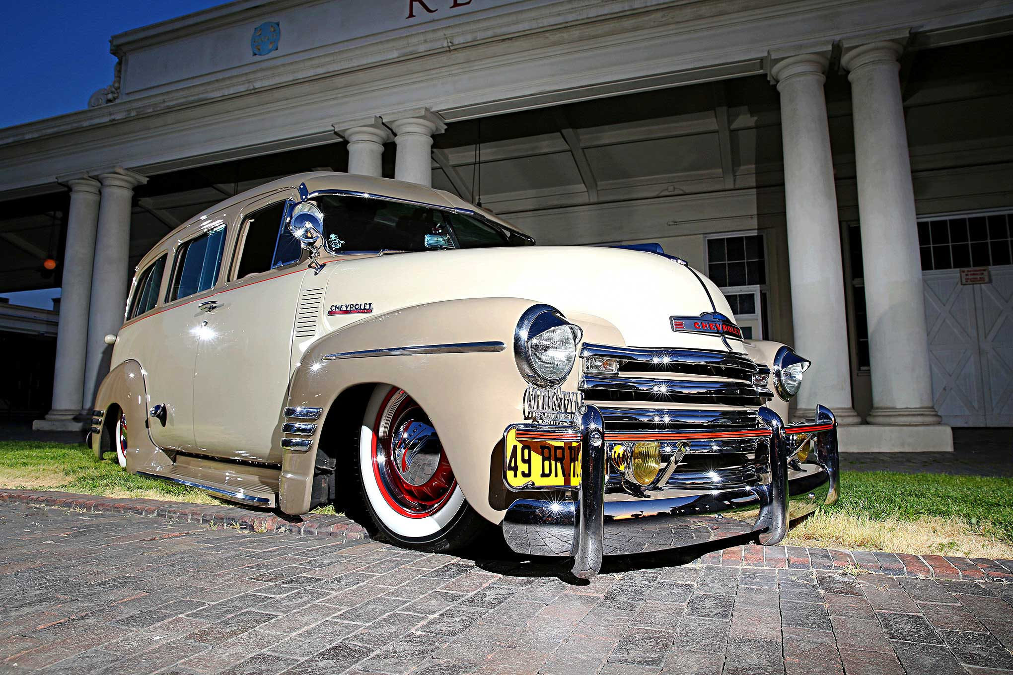 A 1949 Chevy Suburban that was Built to Deliver