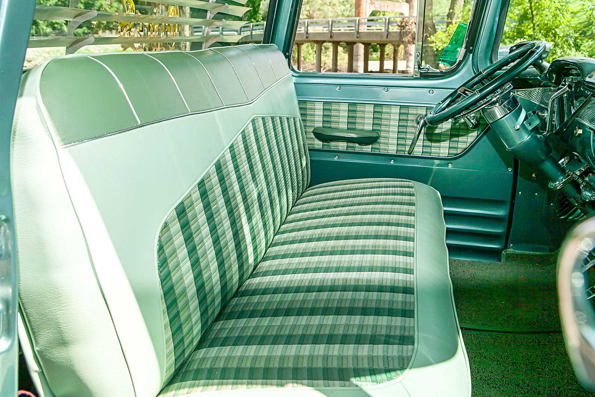 Miraculous An Even Trade Produced This Badass 59 Chevy Apache Evergreenethics Interior Chair Design Evergreenethicsorg