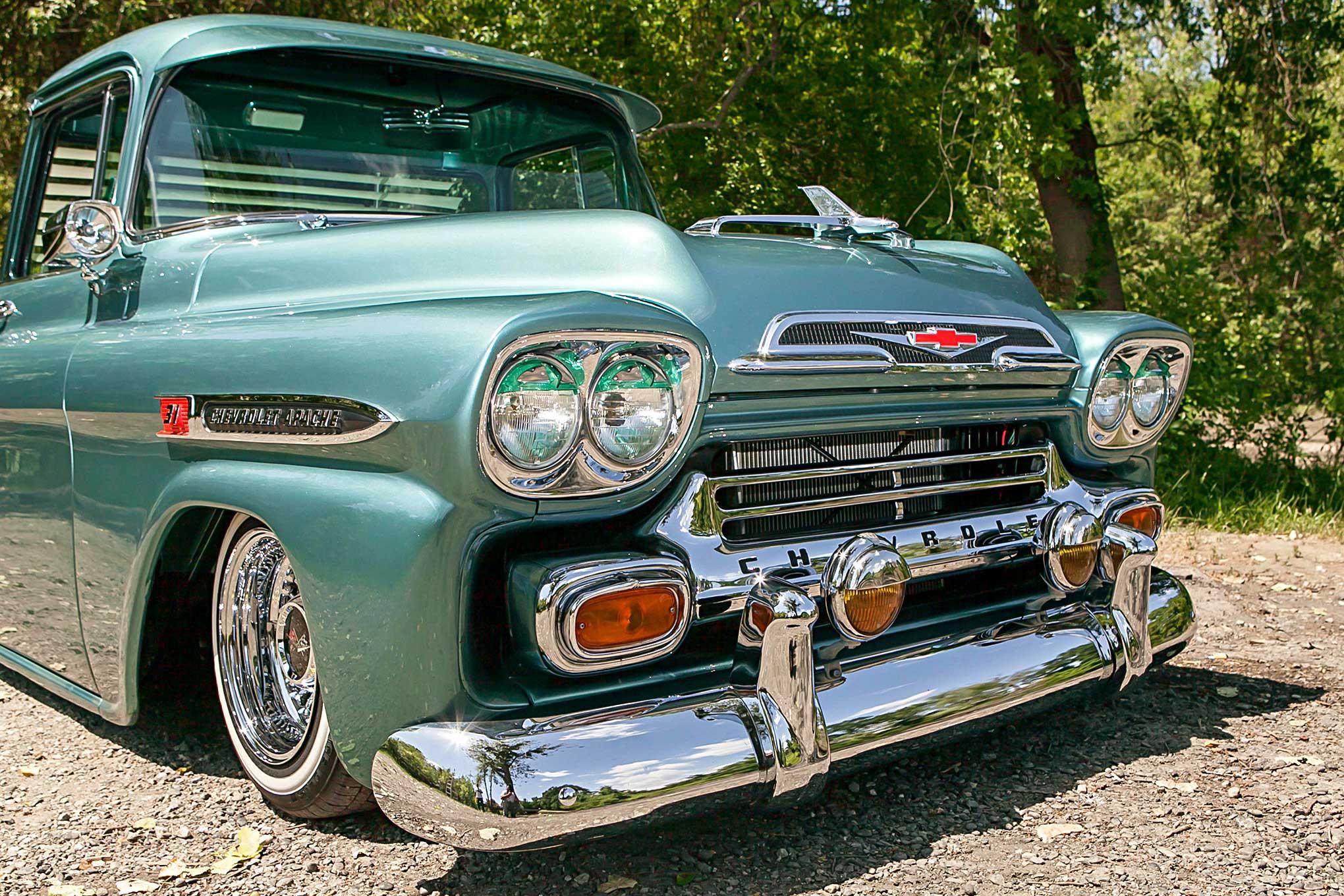An Even Trade Produced this Badass '59 Chevy Apache