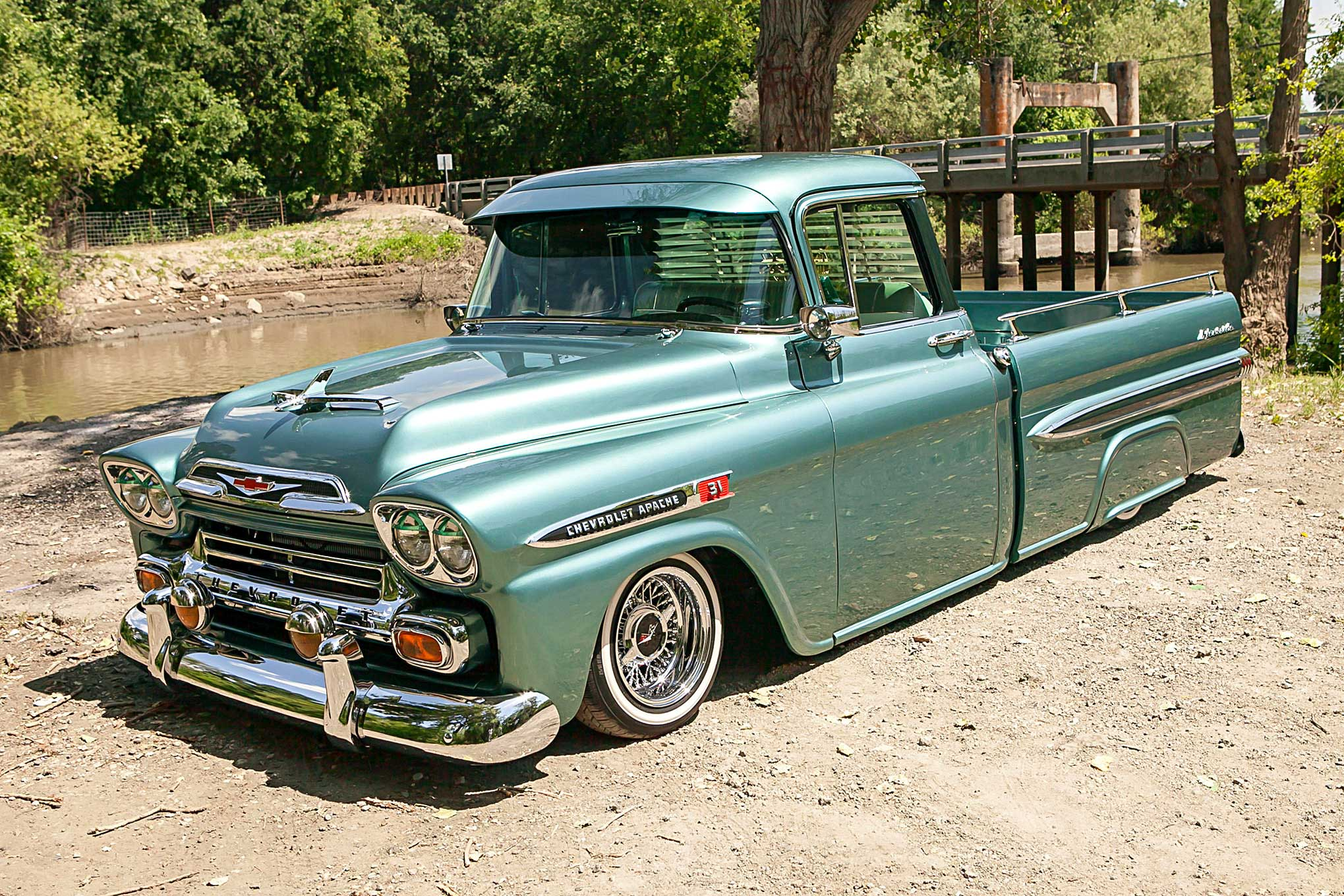 59 chevy truck apache