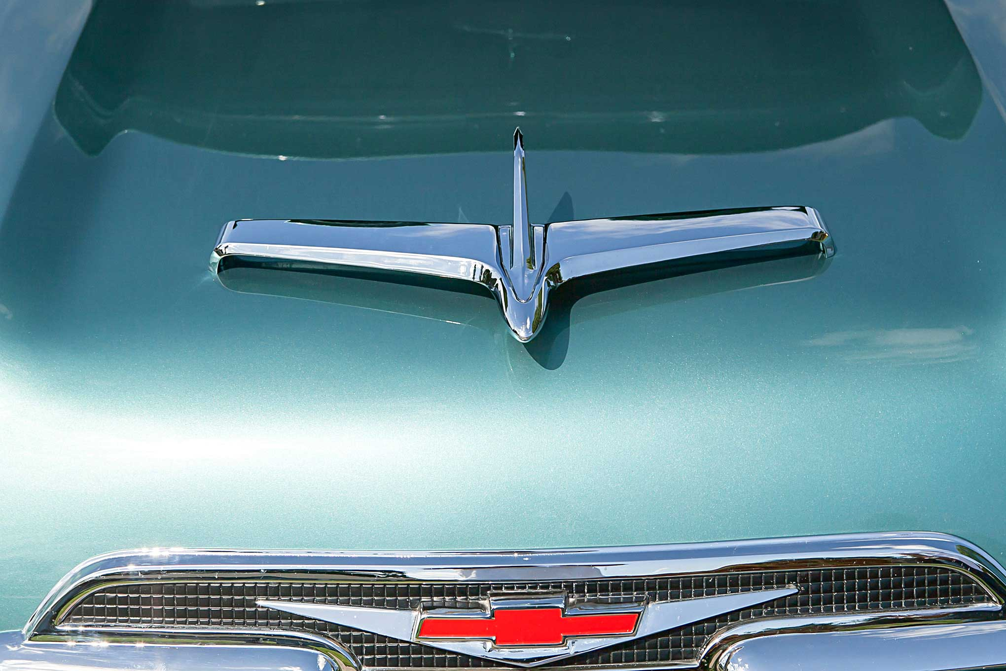 Custom Hood Ornaments >> An Even Trade Produced this Badass '59 Chevy Apache