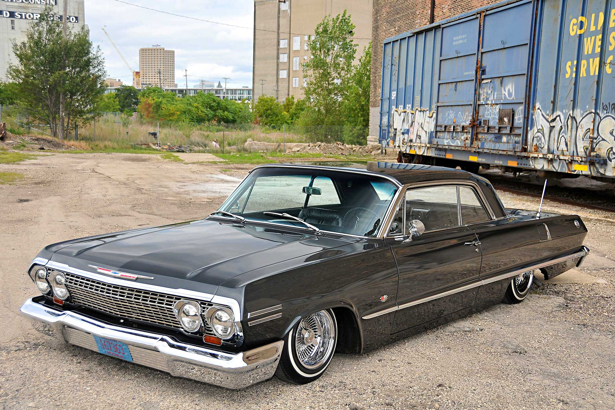 Old Chevy Cars >> 1963 Chevrolet Impala SS Driver Side Front View - Lowrider