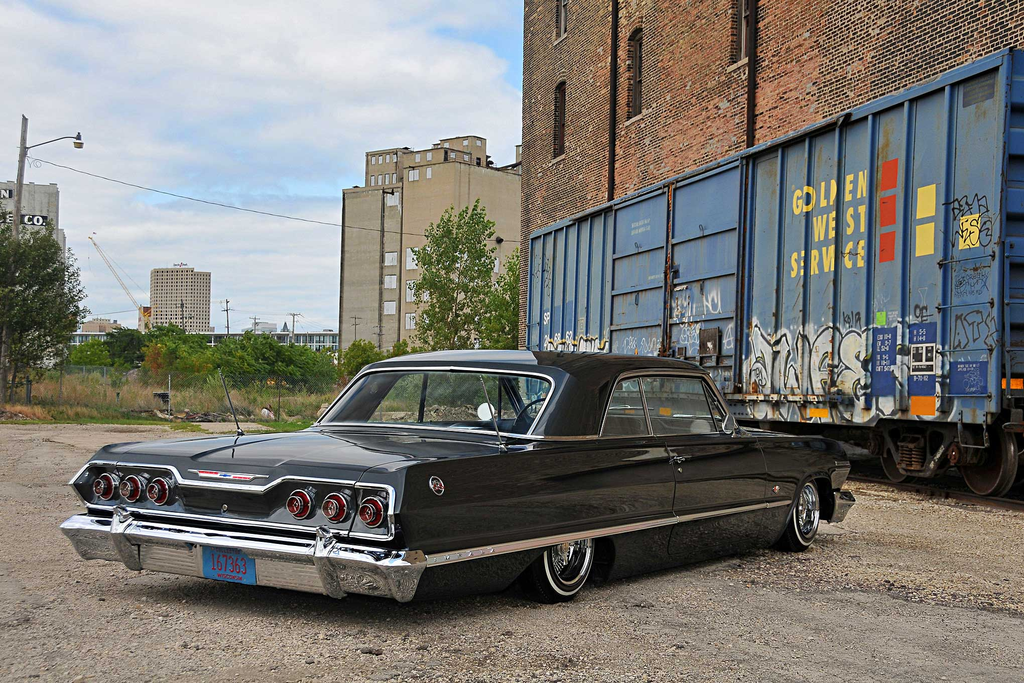 1963 Chevrolet Impala Ss In The Shadows