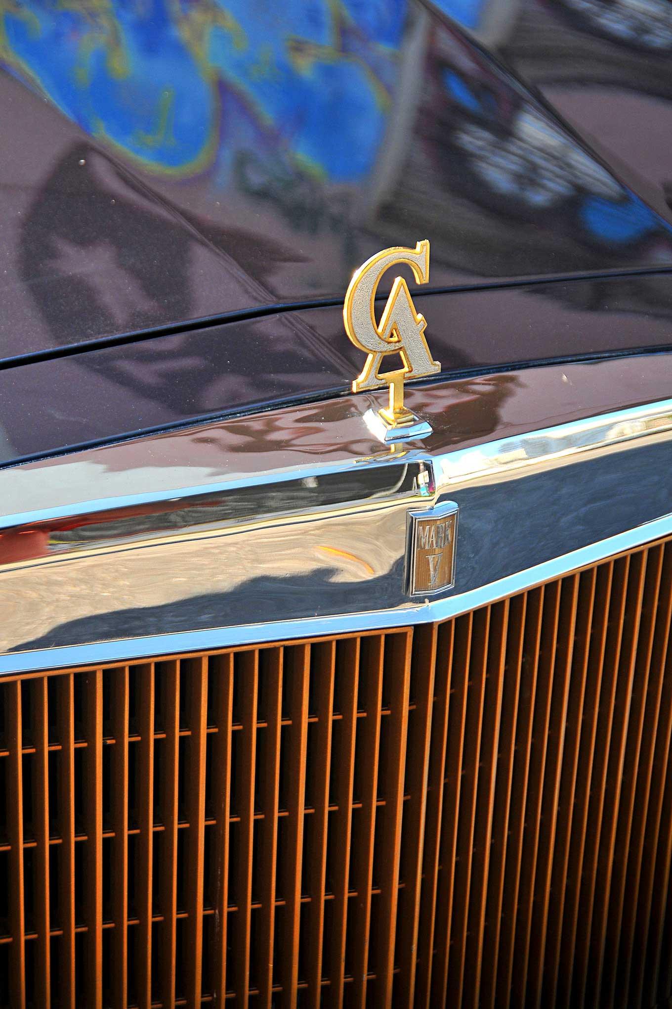 Custom Hood Ornaments >> 1979 Lincoln Continental Mark V Custom Hood Ornament Lowrider