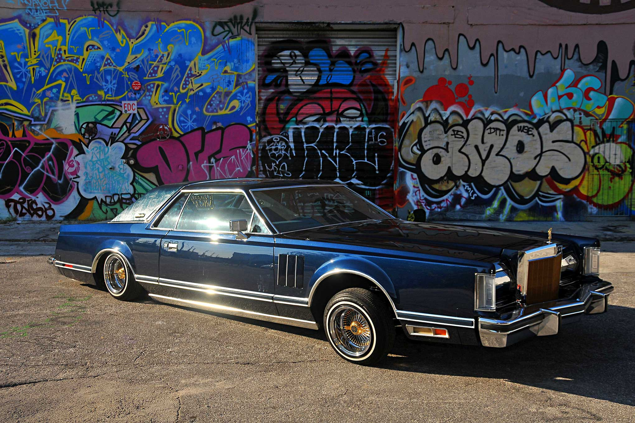 Celebrate Lincoln 2017 >> 1979 Lincoln Continental Mark V - Making His Mark
