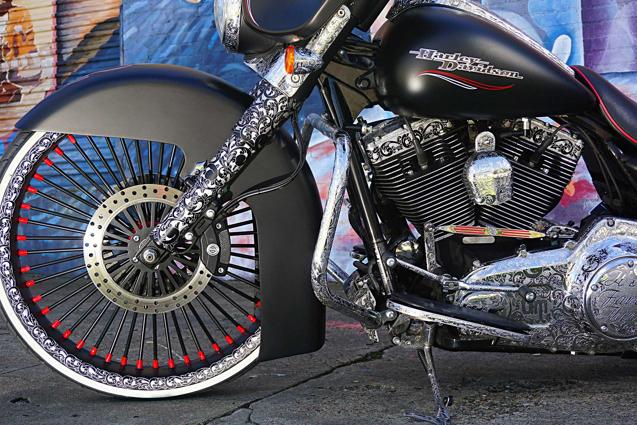 2012 Harley Davidson Street Glide Front Fork Lowrider About This Editor