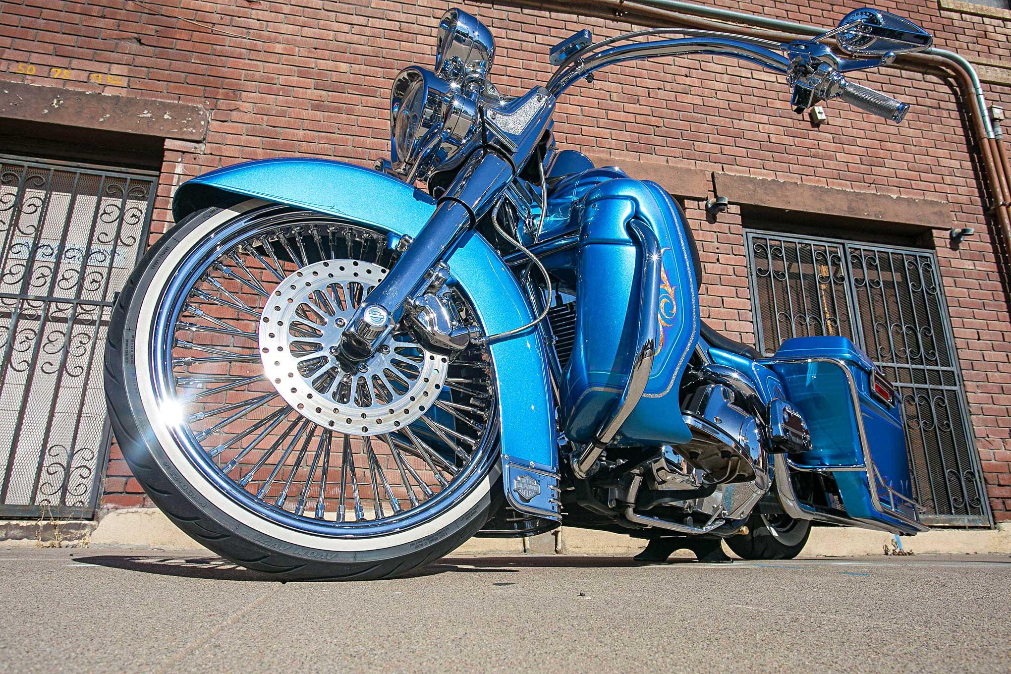 2006 Harley Davidson Road King American Wire Wheel - Lowrider