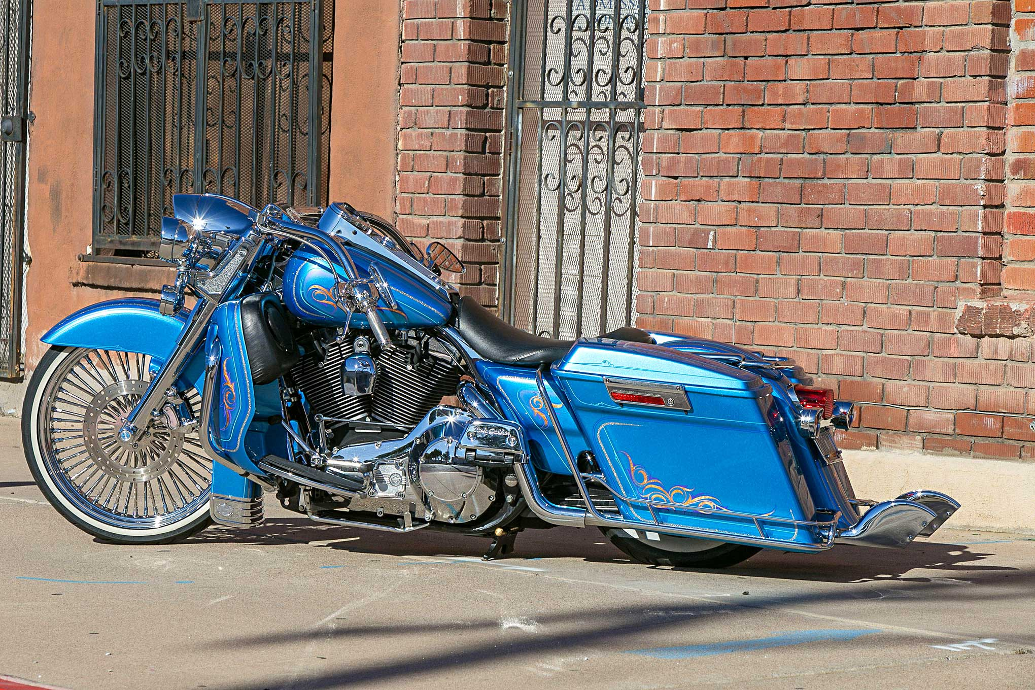 17 Wire Wheels >> Road Trippin' a 2006 Harley-Davidson Road King
